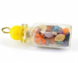 Mix Gem Bottle Pendant