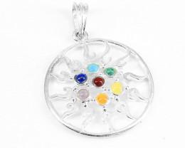 Natural Chakra  pendants