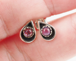 amethyst   silver Earrings,  ,AM 813