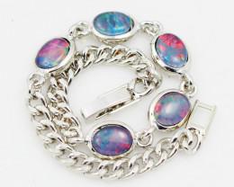 Modern Opal Triplet Bracelet WS 1017