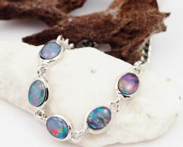 Modern Opal Triplet Bracelet WS 1018