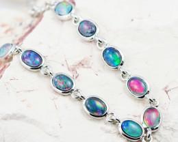 Modern Opal Triplet Bracelet  WS1020