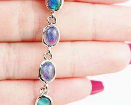 Modern Opal Triplet Bracelet  WS 1021