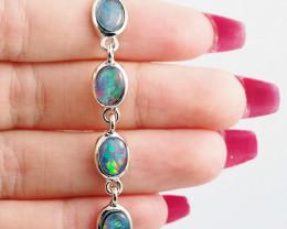 Modern Opal Triplet Bracelet  WS 1022