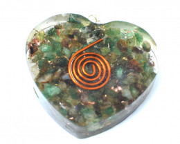 Green Jade Orgone Pendant