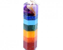 Seven Chakra Healing Pendant