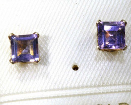 2.20 CTS AMETHYST EARRINGS SG-38