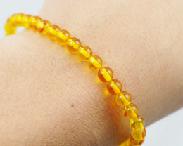 Baltic Honey Amber Sale, Bracelet  , direct from Poland  AM 821