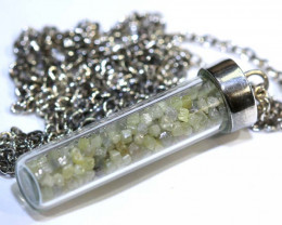 28 CTS DIAMOND CRYSTAL ROUGH-PENDANT  SG-403