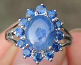Burma Sapphire in Silver