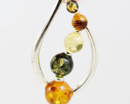Baltic Amber Sale, Silver Pendant  , direct from Poland  AM 896