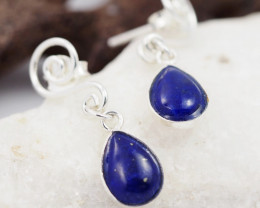 Swing design lapis Lazuli   Earrings AMB 909