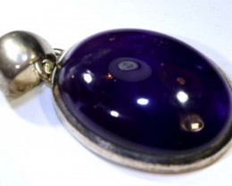 62.5 CTS AMETHYST SILVER PENDANT  SG-2180