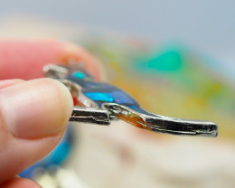 Set 4 Australian Animal  Opal Fridge Magnets  AM  1142