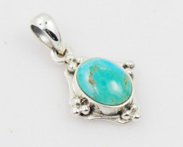 Traditional style Turquiose pendant AM 1133