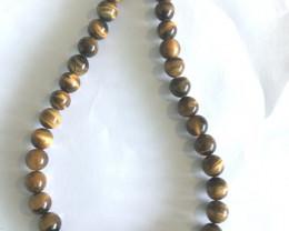 36mm Pretty Onyx Bead Necklace  JE3003