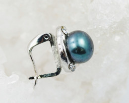 Fresh Water Pearl in French Clip earring  AM 1141