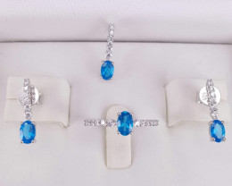 London Blue Topaz Full Set