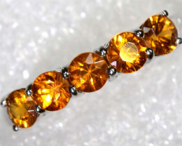 13 CTS CITRINE SILVER RING SG-2555