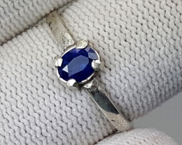 6.50 Carats Natural Blue Sapphire Ring