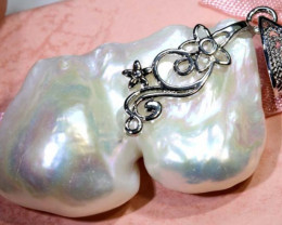 80 CTS PEARL PENDANTS IN SILVER SG-2613