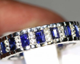15.20 CTS SAPPHIRE RING BLUE AND WHITE SG-2633