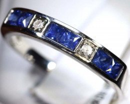 10 CTS SAPPHIRE RING BLUE AND WHITE SG-2656