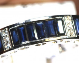 22.10 CTS SAPPHIRE RING BLUE AND WHITE SG-2659