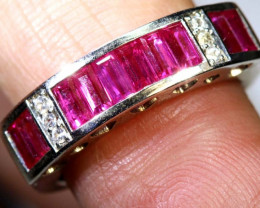 16.50 CTS RUBY SILVER RING SG-2676