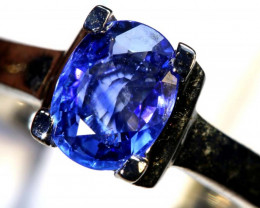 17.10 CTS BLUE SAPPHIRE SILVER RING SG-2678