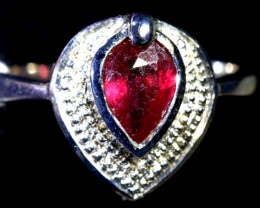 20.10 CTS RUBY  SILVER RING SG-2684