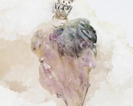 Amethsyt  Holistic Crystal Pendnat  AM 1206