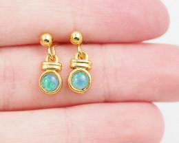 Australian Opal triplet Earring OPJ 2411