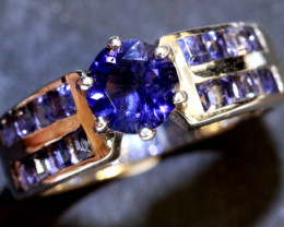 20.60 CTS BLUE SAPPHIRE RING  RJ-89