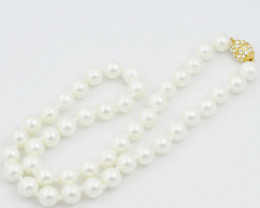 Korean South seas 8 mm  pearl necklaces  AM 1227