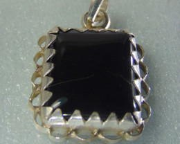 Agate pendent ~ antique stone~ fantasy silver designs 41.90cts