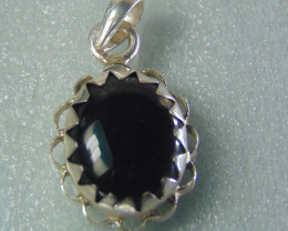Agate pendent ~ antique stone~ fantasy silver designs 24.60cts