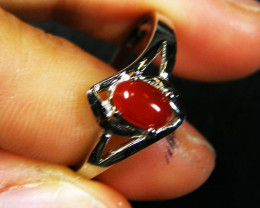 RESELLERS DEAL EIGHT CARNELIUM RINGS SIZES 7-8 AAT 516
