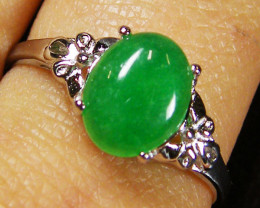 RESELLERS DEAL EIGHT MALAY JADE RINGS SIZES 7-8 AAT 510