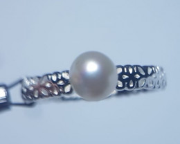 Fresh Water Pearl Silver Ring