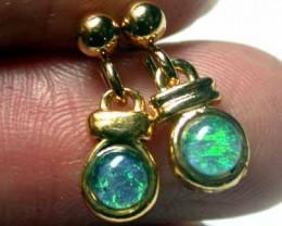 Australian Opal triplet Earring OPJ 2071