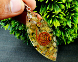Genuine Moonstone Orgone Pendant
