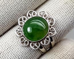 21.50 Carats Natural Grussolar Ring
