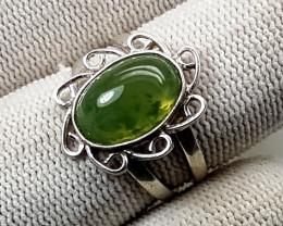 20.70 Carats Natural Grussolar Ring