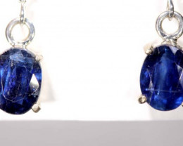 16.8  CTS KYANITE SILVER EARRINGS TBJ-362