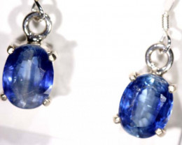 17.3 CTS KYANITE SILVER EARRINGS TBJ-363