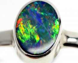 9 RING SIZE OPAL DOUBLET FACTORY DIRECT [SOJ4026]