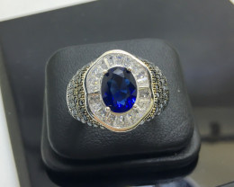 38.75 Crt 925 Silver Ring With Cubic Zircon