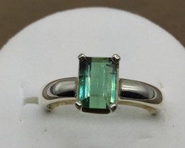Tourmaline Transparent  Handmade 925 Sterling silver ring
