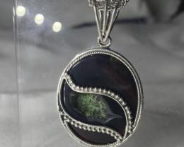 Druzy Agate Pendant